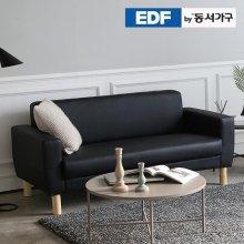 EDFby동서가구 DA 블랙모던 3인소파 DF636916 _블랙