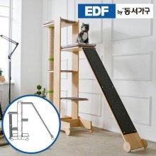 EDFby동서가구 펫츠펀 원목 캣타워 기본형+스크래쳐+슬로프 I형 DF636831 _내추럴
