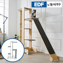 EDFby동서가구 펫츠펀 원목 캣타워 기본형+스크래쳐 B형 DF636824 _내추럴