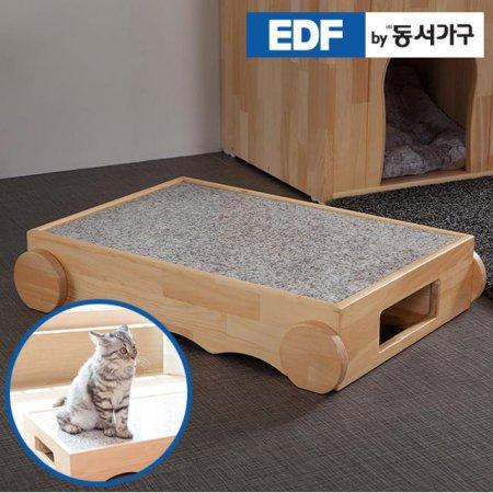 EDFby동서가구 펫츠펀 냥이멍이 원목 대리석 쿨침대 DF636820