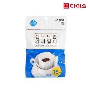 35556_핸드드립 커피필터15매-1001974