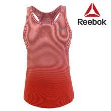 [QR코드인증]리복 여성 SEL STRPE RACER/스트라이프 레이서 민소매 티셔츠-Z77903 XS