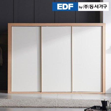 디아나 슬라이딩 2400 옷장 DFF369CB _헤링본 연그레이