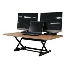 DeskTopDesk 높낮이 조절 스탠딩책상 DTD-L-EMB [망블피치 / 대형 / 표준형]
