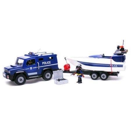 경찰트럭과 스피드보드(5187)