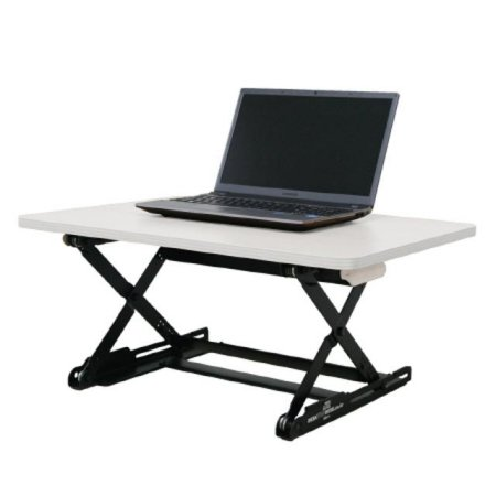 DeskTopDesk 높낮이 조절 스탠딩책상 DTD-S-EWT [라이트 그레이 / 소형 / 표준형]