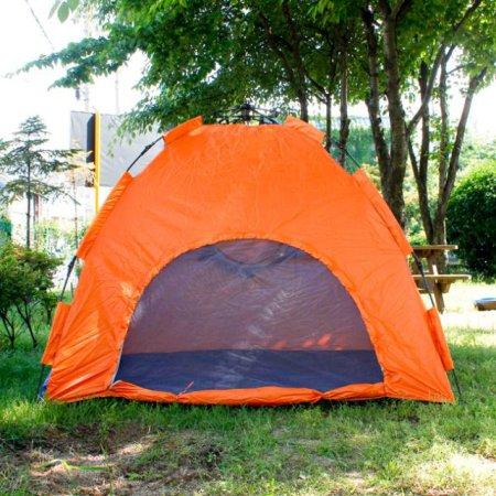 아웃도어3~4인용 3단 원터치 텐트