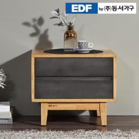 에리 고무나무 원목 협탁 DFF369FH _화이트