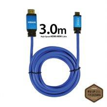 HDMI케이블 [ 3.0m / 블루 / 최대해상도 4096×2160지원 ]