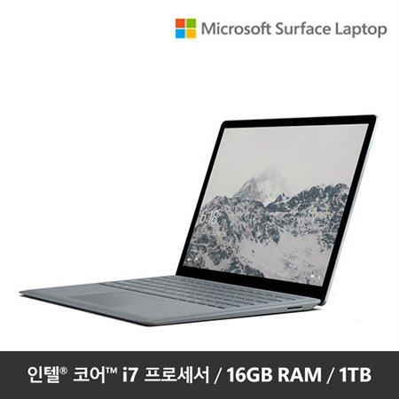 "Surface Laptop EUP-00021 [i7 16GB/1TB-Platinum / 12.3"" FHD / Windows 10]"