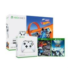 XBOX ONE S 500G핫휠팩+추가패드+게임2종