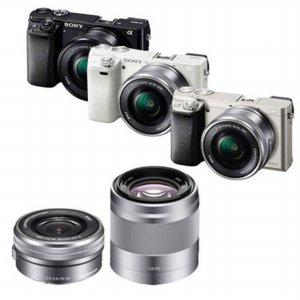 [16GB메모리+가방 증정] A6000 더블렌즈 [블랙 / 실버 / 화이트 / 본체 + 16-50mm + 50mm]