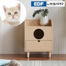 펫츠펀 서랍형 고양이화장실 DF637020 _오크