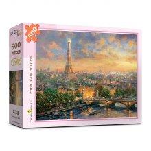 500피스 사랑의 도시 파리 직소퍼즐 PL838
