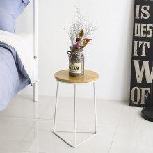 매트 사이드 테이블(White)