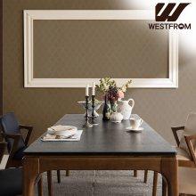 빈티지 카르멘) 화산석 4인식탁 (식탁, 테이블만) 모카브라운