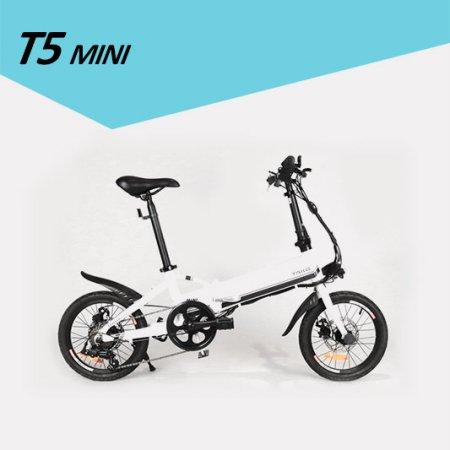 모토벨로 T5 미니 전기자전거 화이트 PAS 전용