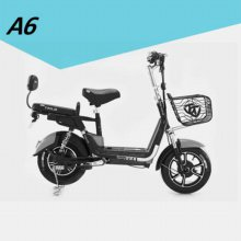A6 스쿠터형 전기자전거 블랙(2월28일 이후 순차출고)