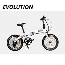 에볼루션 전기자전거 화이트