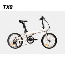 TX8  전기자전거 화이트
