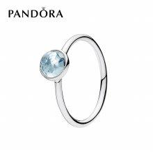 [판도라] 반지 탄생석 (3월) Birthstone Ring 191012NAB 50