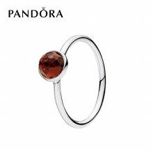 [판도라] 반지 탄생석 (1월) Birthstone Ring 191012GR 50