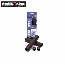 레드몽키 실리콘 소재 카브 핸들그립 6.5mm _블랙