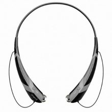 CHEMI 넥밴드형 블루투스 이어폰[커널형][블랙][HIBT-950]