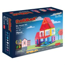76pcs 맥킨더 자석블럭 클릭블럭 - 마이 하우스 세트