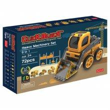 72pcs 맥킨더 자석블럭 클릭블럭 - 중장비 세트