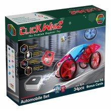 34pcs 맥킨더 자석블럭 클릭블럭 오토모바일 세트