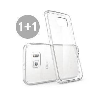 [시그마] [1+1] 스마트폰 투명 젤리 케이스 / 리얼글라스 강화유리 액정보호필름 (갤럭시/아이폰/LG)