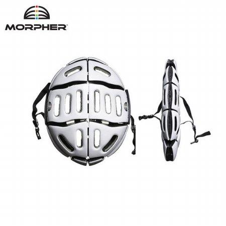 모퍼 MORPHER 접이식 폴딩 헬멧 _유광화이트