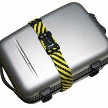 팩세이프 보호벨트 TSA잠금벨트 STRAPsafe 100 옐로우블랙
