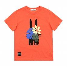 [피터젠슨] 아동 공용 사파리 그래픽 티셔츠 POM12TR68M_OR OR:S