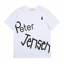 [피터젠슨] 아동 공용 빅 레터 티셔츠 POM11TR63M_WT WT:S