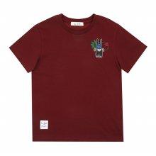 [피터젠슨] 아동 공용 사파리 그래픽 티셔츠 POM12TR65M_WN WN:S