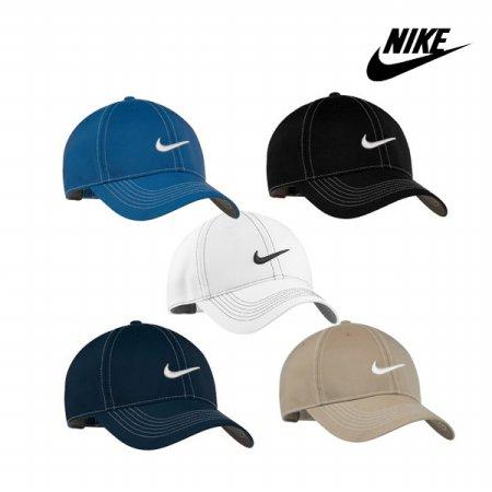 [NIKE] 나이키 골프 스티치 스우시캡 333114 333114-010 블랙