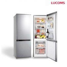 대우루컴즈 161L 소형냉장고 메탈스타일 상냉장 하냉동 / R161M1-G