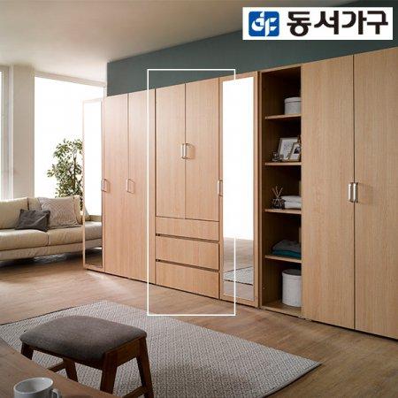 켄델 3단 서랍형 800 싱글옷장 DF907483 _메이플
