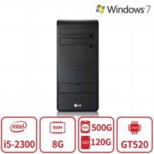 코어i5 듀얼스토리지 멀티테스킹 데스크탑 B5시리즈 [8G/SSD120G+HDD500G/GT520] 리퍼