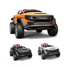 유아전동차 브룬 T870 Sports TANK  (리튬이온팩) 화이트