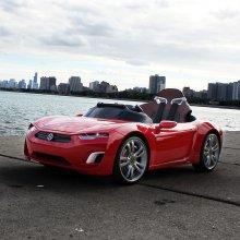 유아전동차 브룬 F8 Sports (리튬이온팩) 화이트