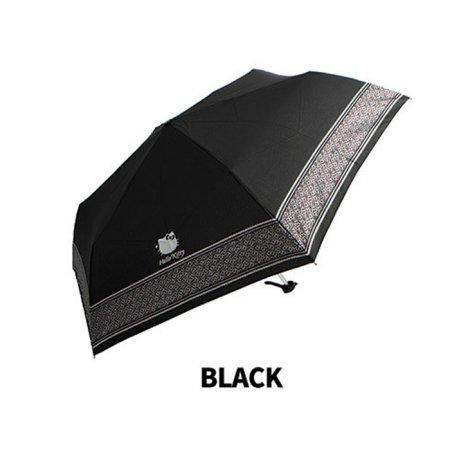 헬로키티 50리본밴드 슬림 3단우산 FUHKU60002 블랙