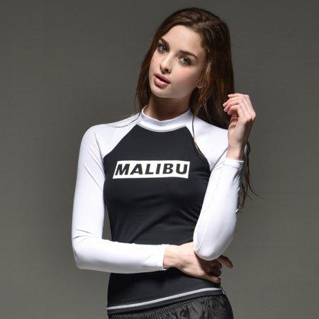 MALIBU 펭퀸 래쉬가드 M 여성
