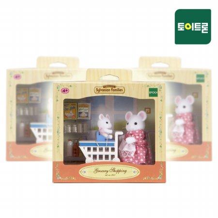 [실바니안공식] 5043-모녀가 함께하는 쇼핑타임(2401)