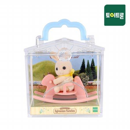 [공식] 4391A-미니가방 놀이터(3340)-토끼흔들목마