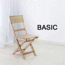 원목 접이식 카페(폴딩)의자 basic