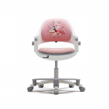 링고 고정형X디즈니 콜라보 커버 시리즈(발받침포함) 인조가죽 핑크:프린세스 핑크