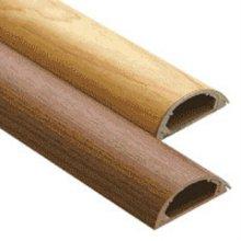 리빙무늬목 전선보호관 26mm (진한무늬목 연한무늬목) 1입 진한무늬목26mm 1입